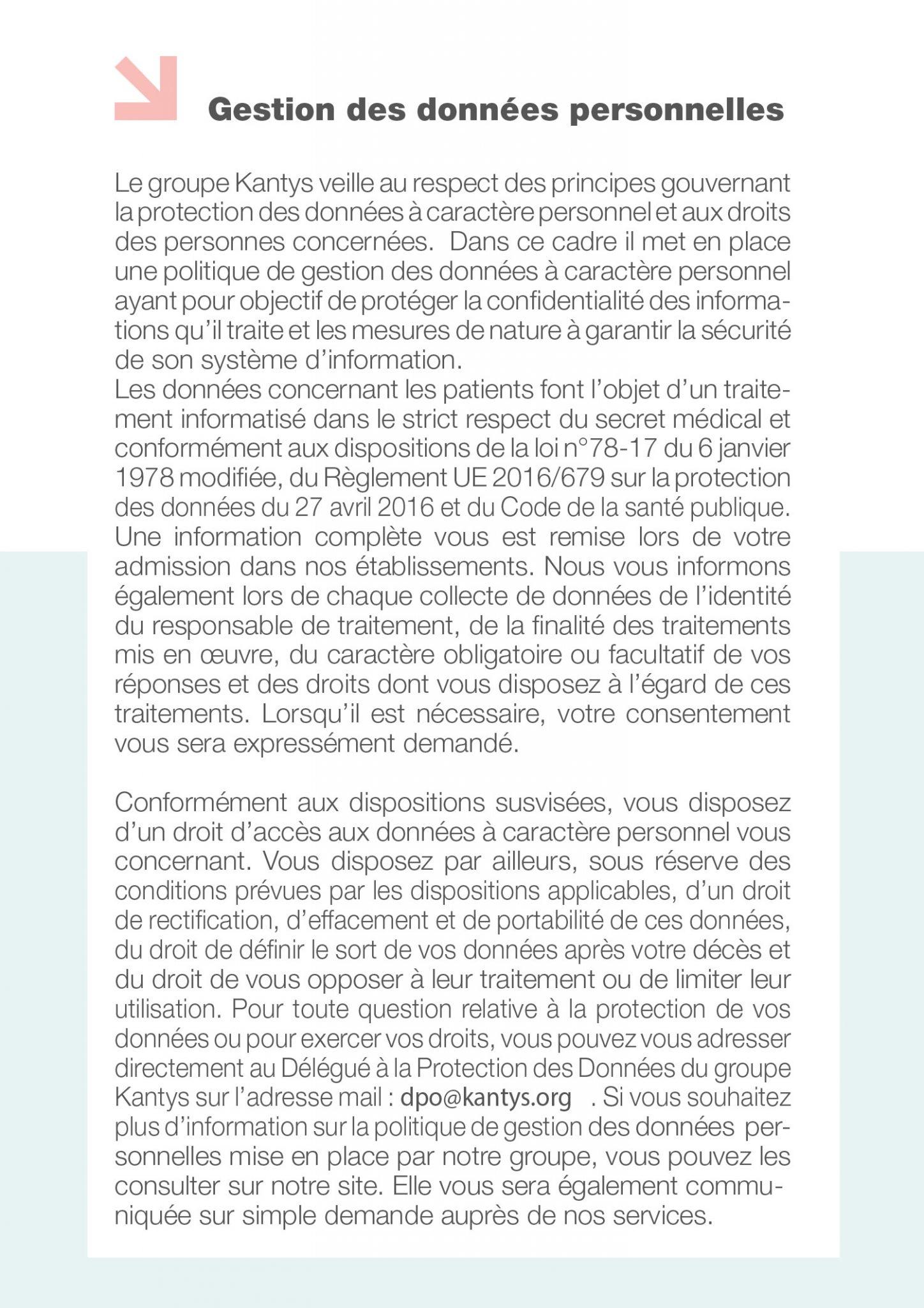 Droits et informations du patient